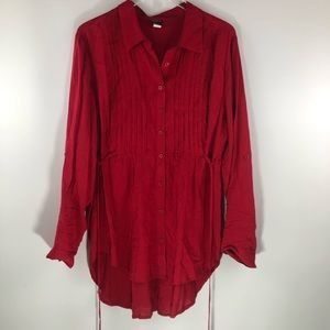 Torrid • Red Blouse Shirt